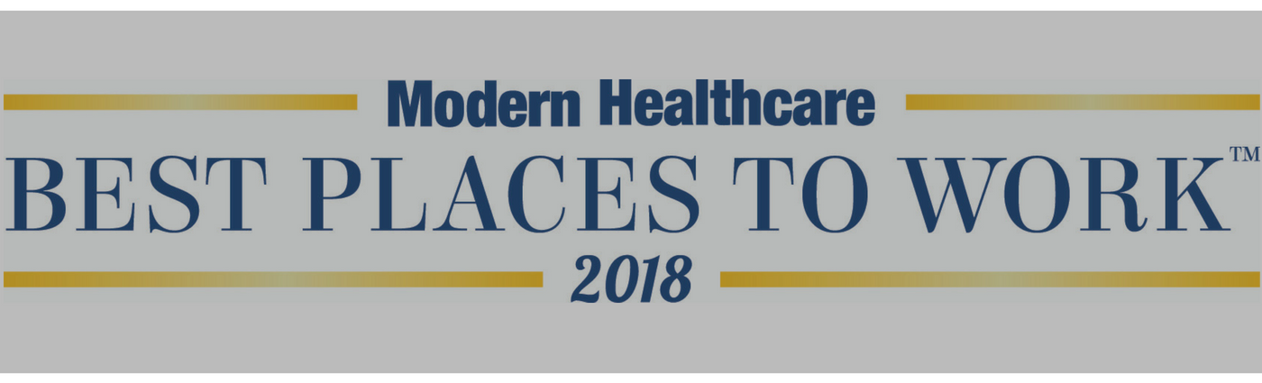 Best Places to Work in Healthcare - 2018