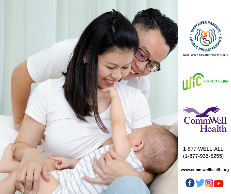 CommWell Health WIC Celebrates World Breastfeeding Week