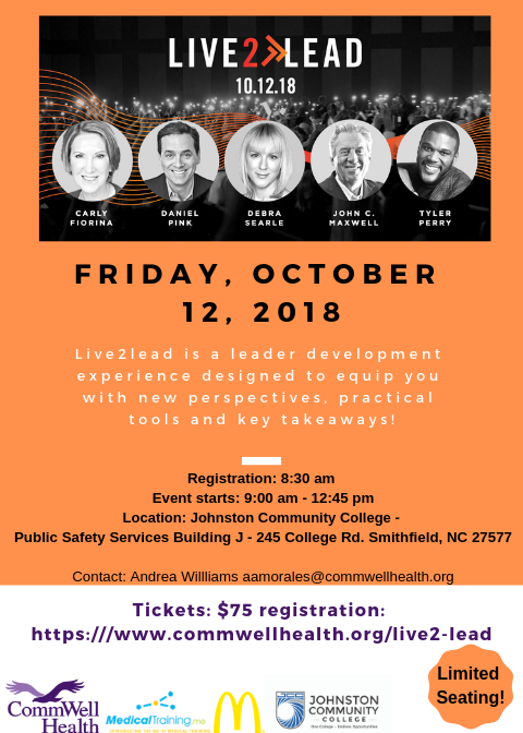 Friday october 12 2018 Final Flyer L2L